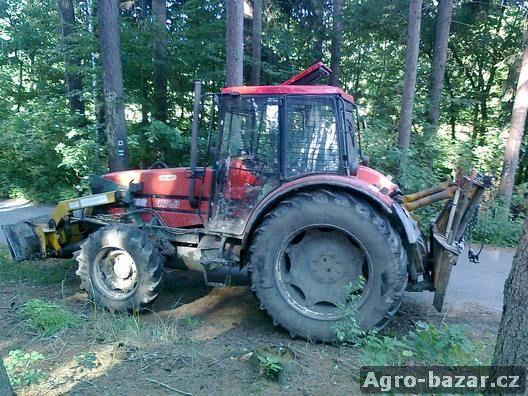 UKT Zetor 9540 s lesnickou nástavbou PTR Třeboň