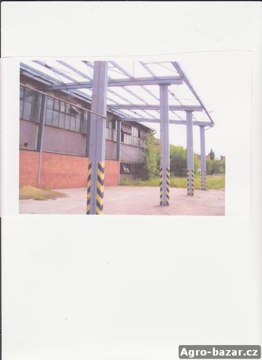 Ocelový přístřešek - cena 90 tis.Kč