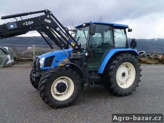2007 New Holland TL100A traktor