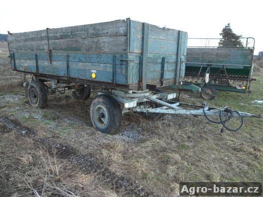 Traktorový vlek 5tun