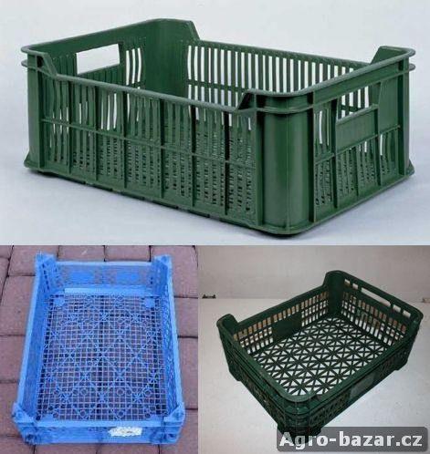 Plastové přepravky pro ovoce a zeleninu 15kg