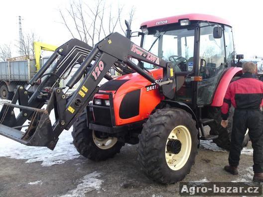 traktor zetor PROXIMA 8441 + nakladač TRAC-LIFT 120