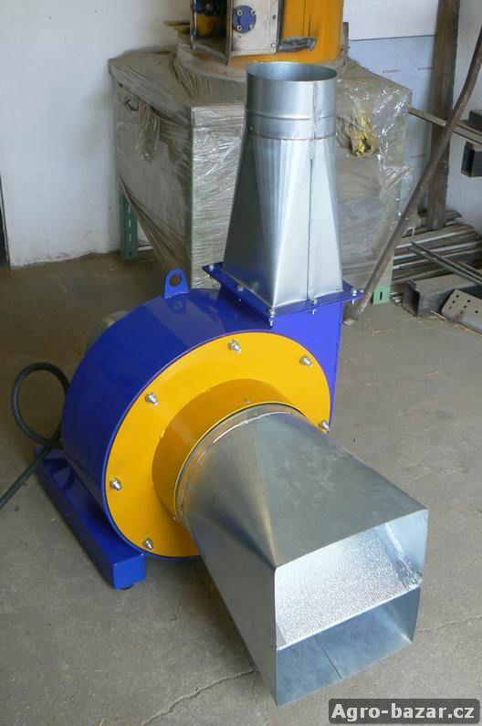 Šrotovník kladívkový, sláma, TYP  KST-200S