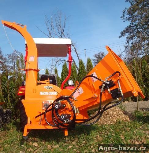 Nový štěpkovač CRONIMO BX62R s hydraulickým posuvem, AKCE