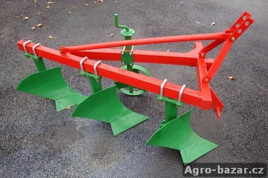 Pluh Cronimo dělený 1XL-3 za traktor, malotraktor, nový