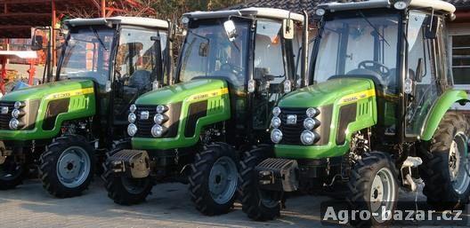 Traktor s kabinou zn. CHERY CR504 s výkonem 50 Hp,