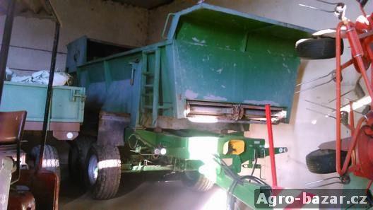 Rozmetadlo statkových hnojiv RMA-8