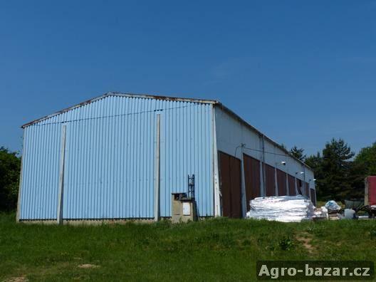 Ocelová konstrukce haly HARD Jeseník, včetně opláštění a střechy