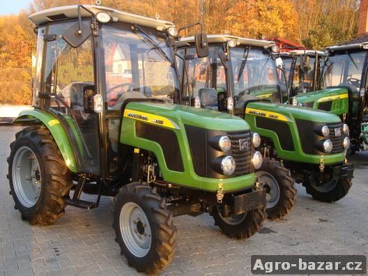 Traktor Chery (Detank) CR304 s kabinou a s výkonem 30 Hp, na SPZ nový se zárukou