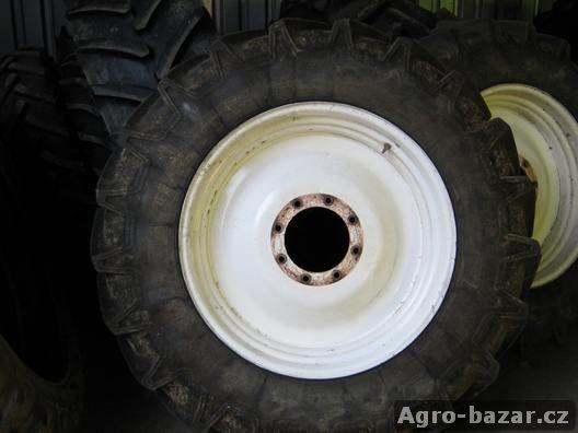 Kultivační kola Maxxum 140 + pneu