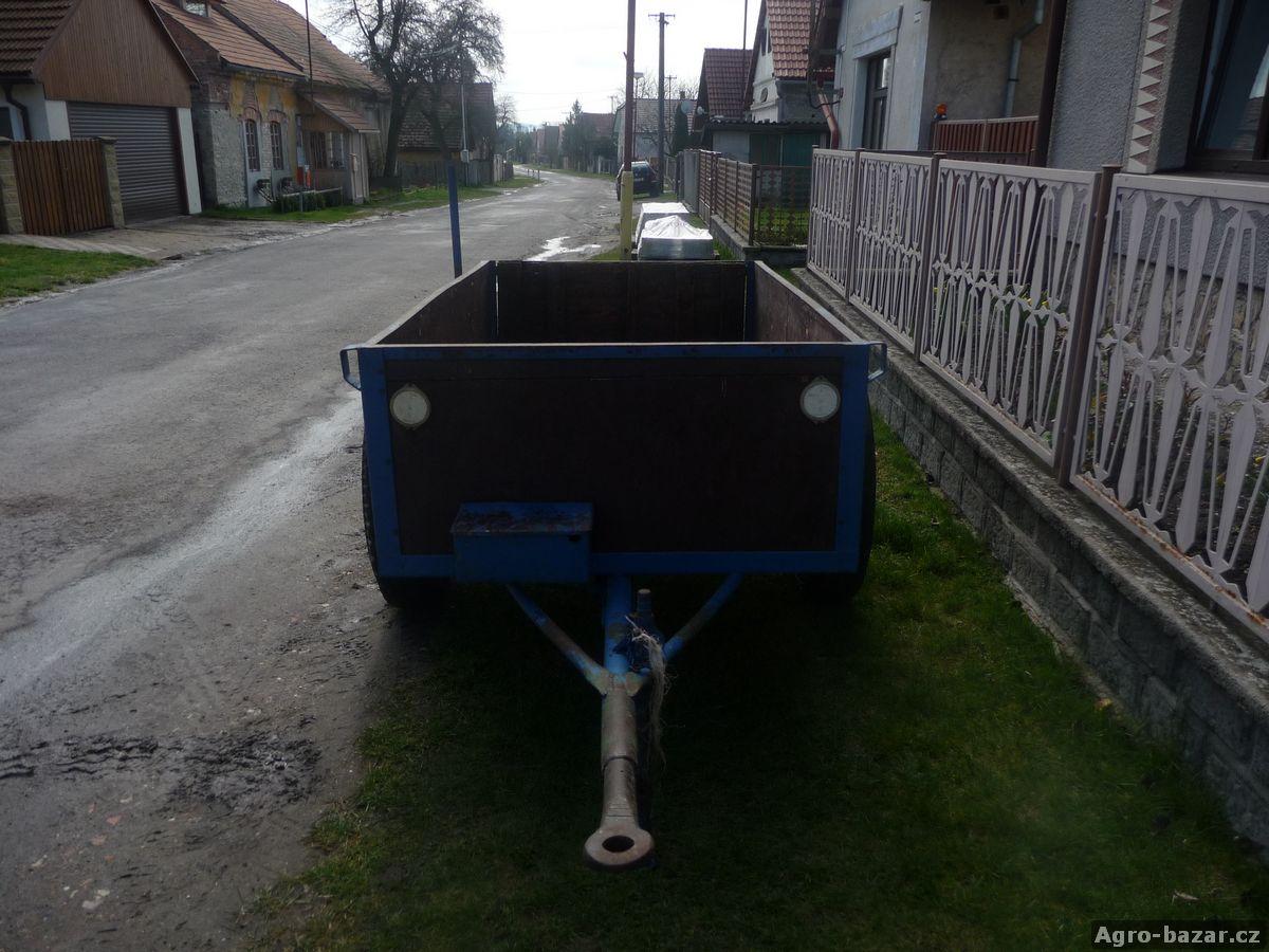 Kára za traktor bez SPZ