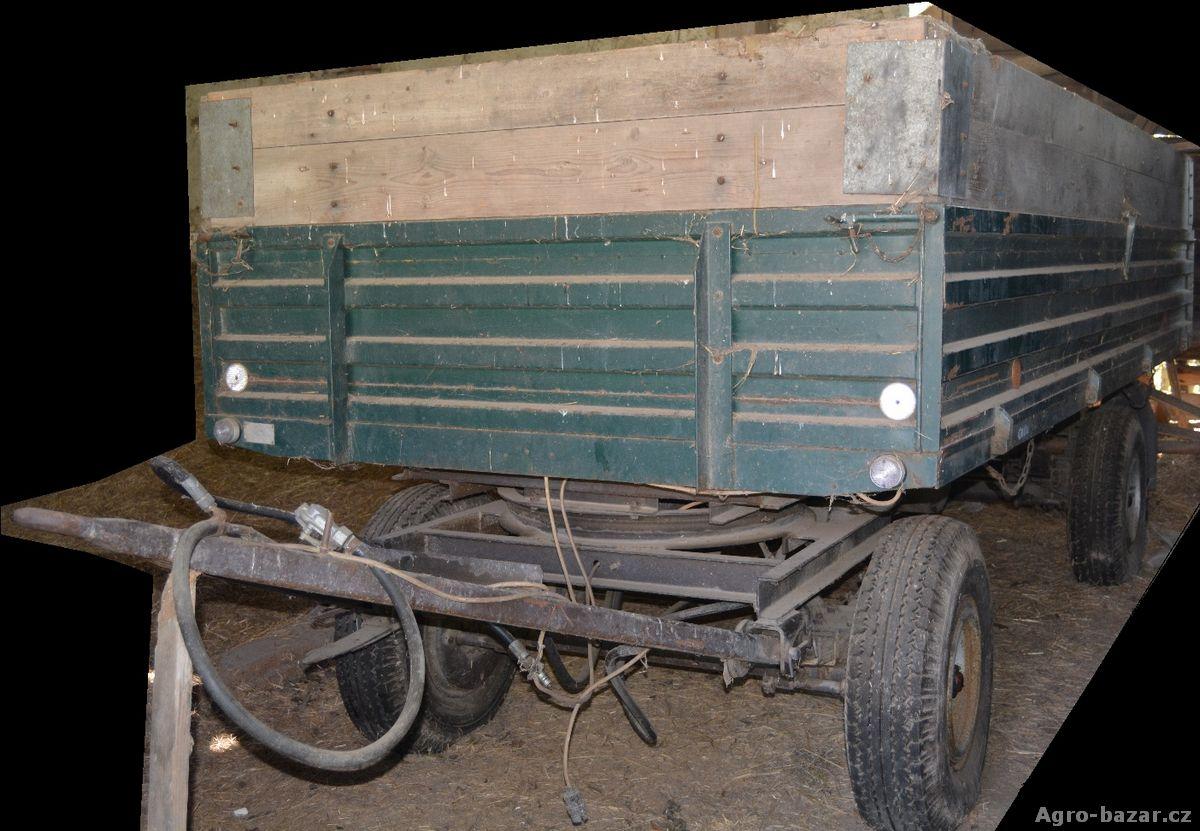PRODÁM traktorový sklápěcí vlek 5 tun STK do 2019
