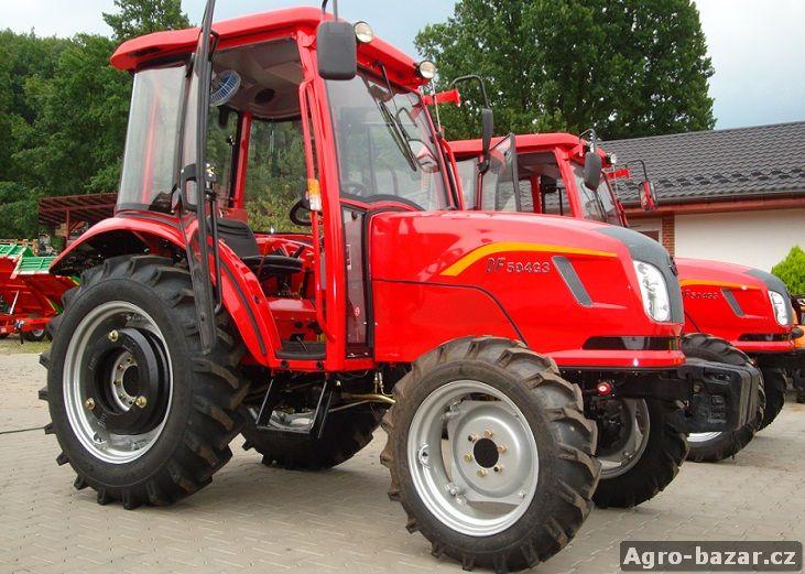 Výkonný traktor DongFeng 504G3 na SPZ s kabinou