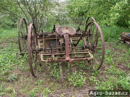 Zemědělské stroje za koně