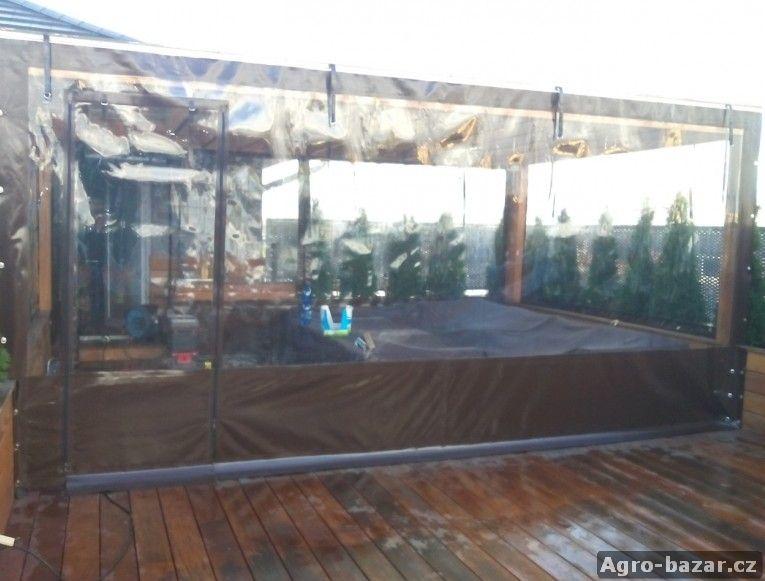 Pergola, pergoly, terasa, plachtové opláštění konstrukcí