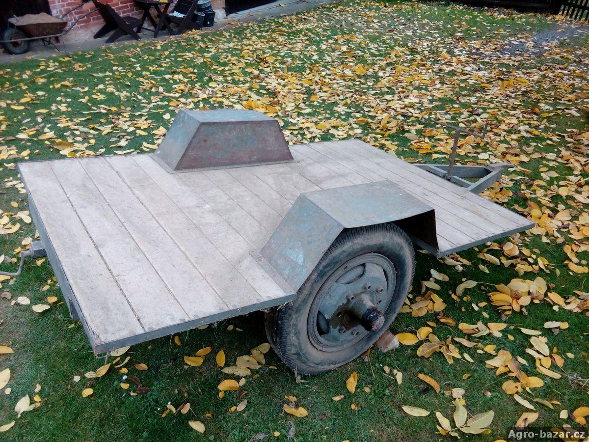 Valník dvoukolový za traktor