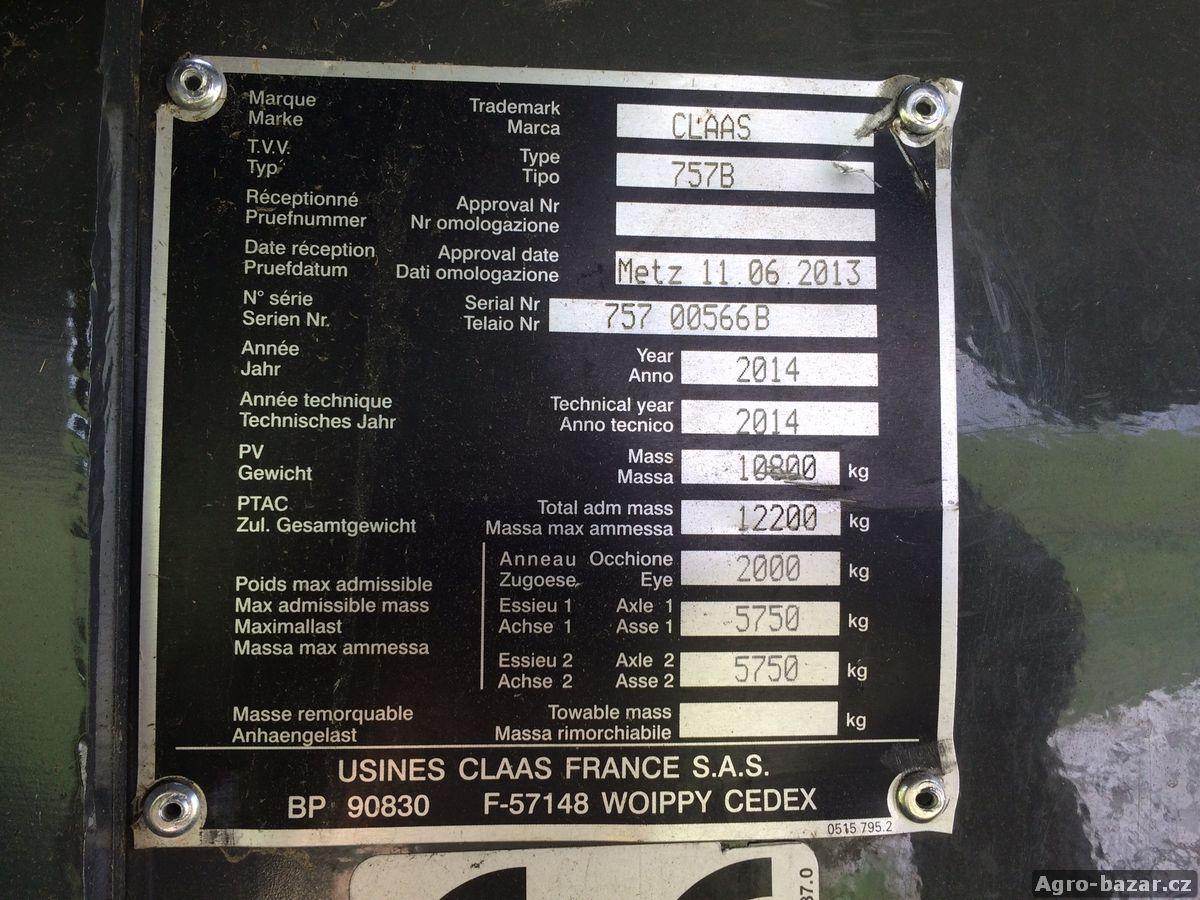 Vysokotlaký lis CLAAS QUADRANT 3300 RF