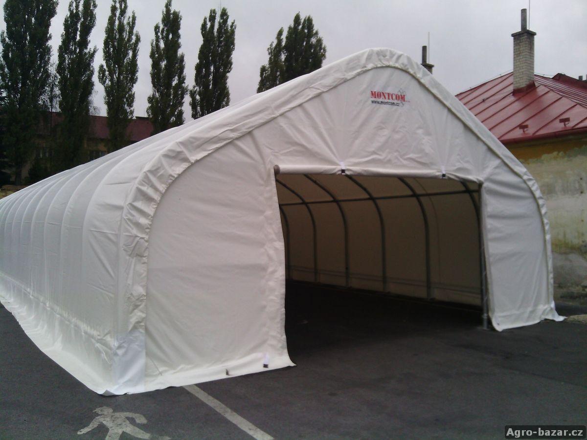 montovaná hala MONTCOM s PVC plachtou (25x8m)