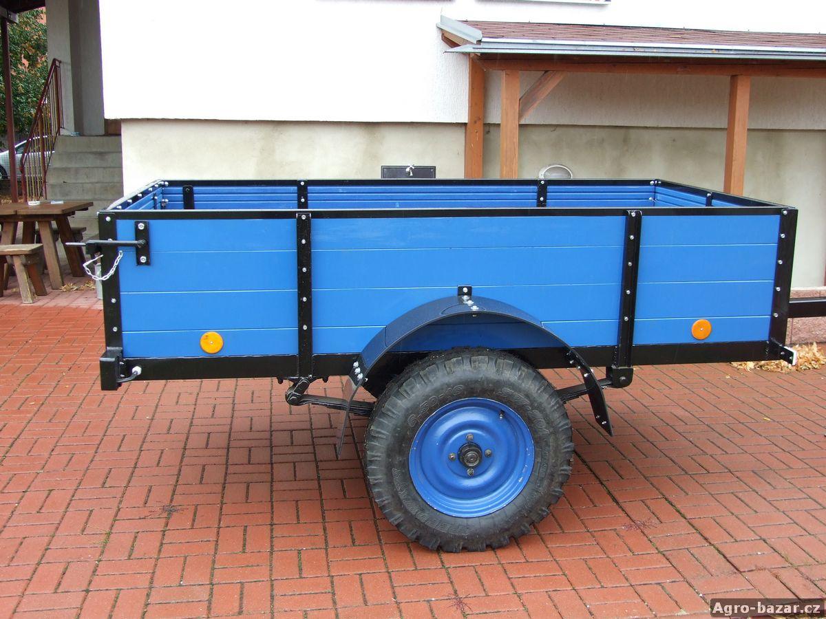 Dvokuolová kára za traktor