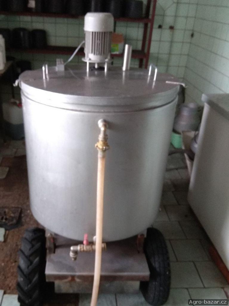 Milktaxi vozík na mléko agromont TeMax 180l
