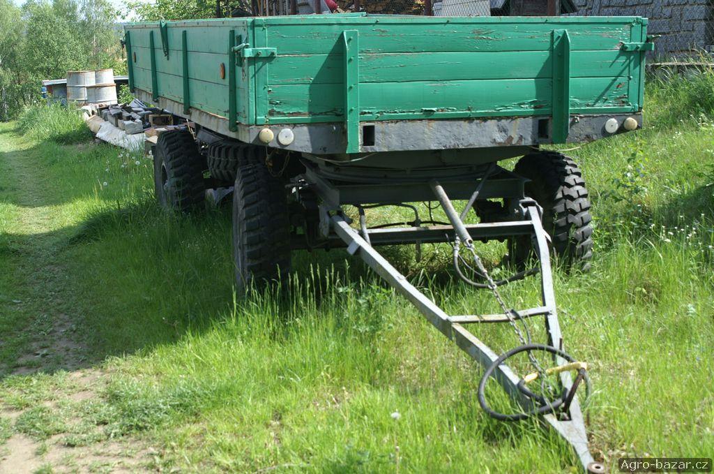 Traktorový vlek 7t