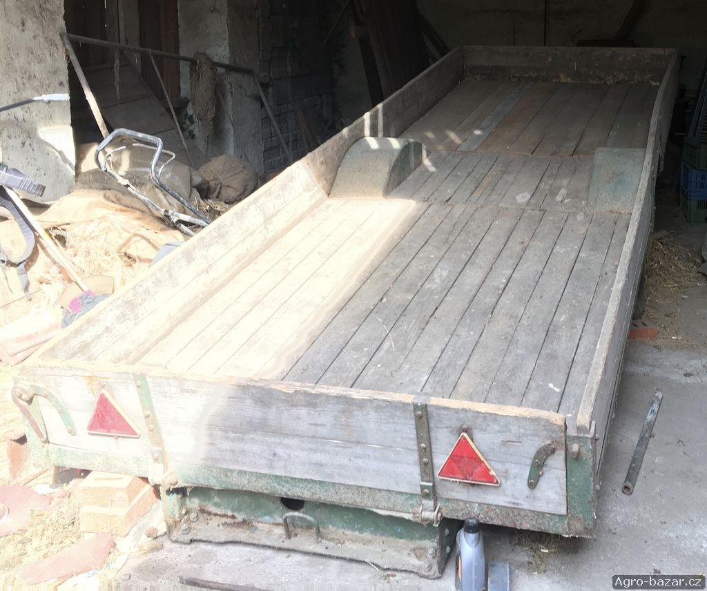 Plaťák - valník, plošina za traktor 490x160cm korba
