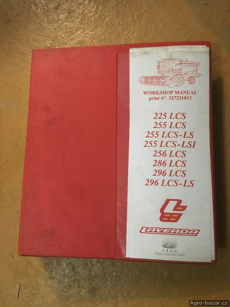 Manuál oprav kombajnů Laverda 225LCS - 296LCS