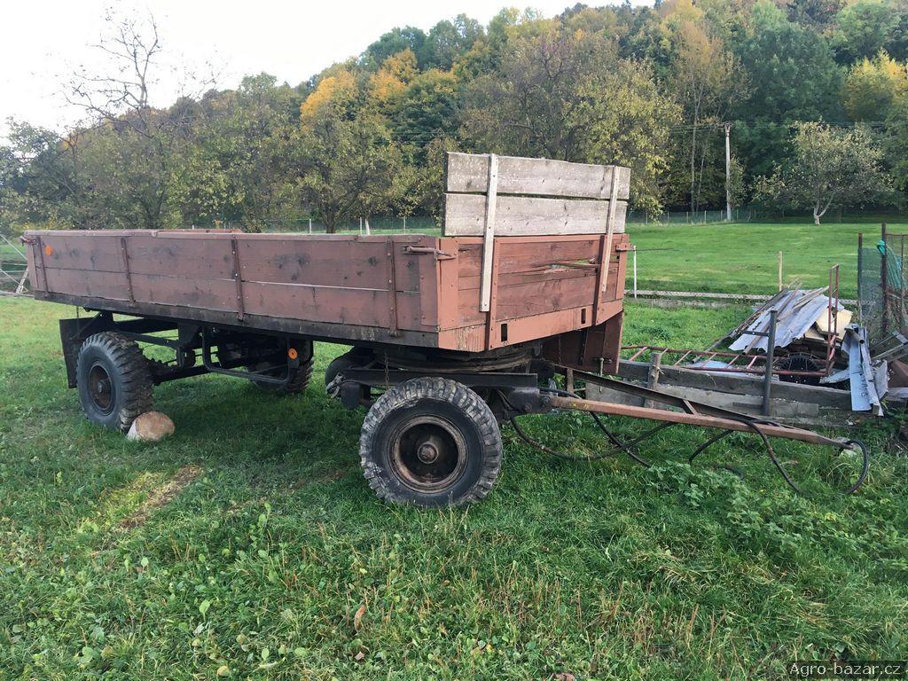 Traktorový přívěs sklápěcí BSS PZS 50