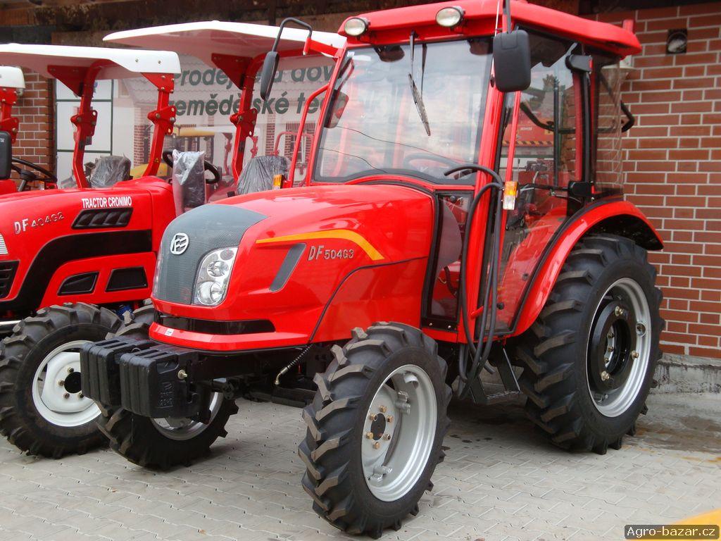 Traktor DongFeng 504G3 s kabinou na SPZ,50 Hp