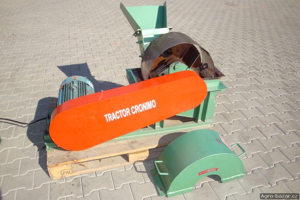 Štěpkovač s drtičem (2in1) s elektromotorem
