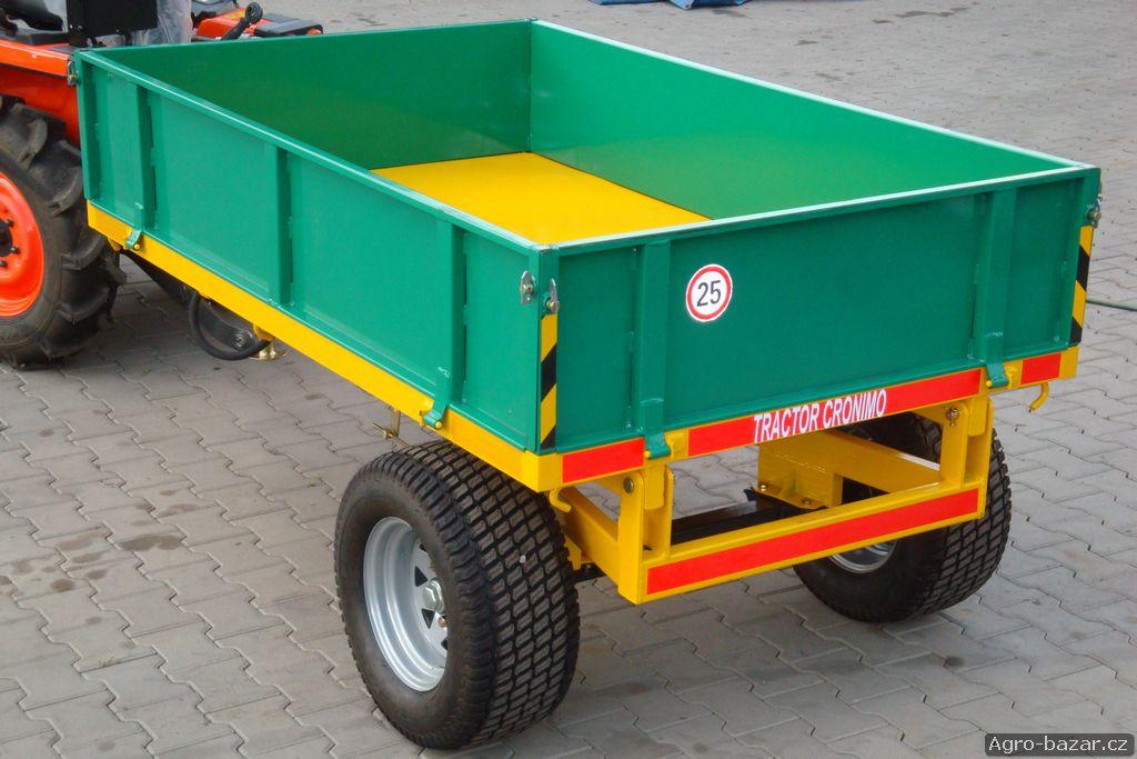 zemědělský vlek, přívěs za traktor 1,5 t
