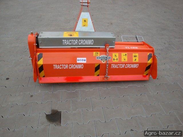 Rotační kultivátor RT125 za traktor, rotavátor