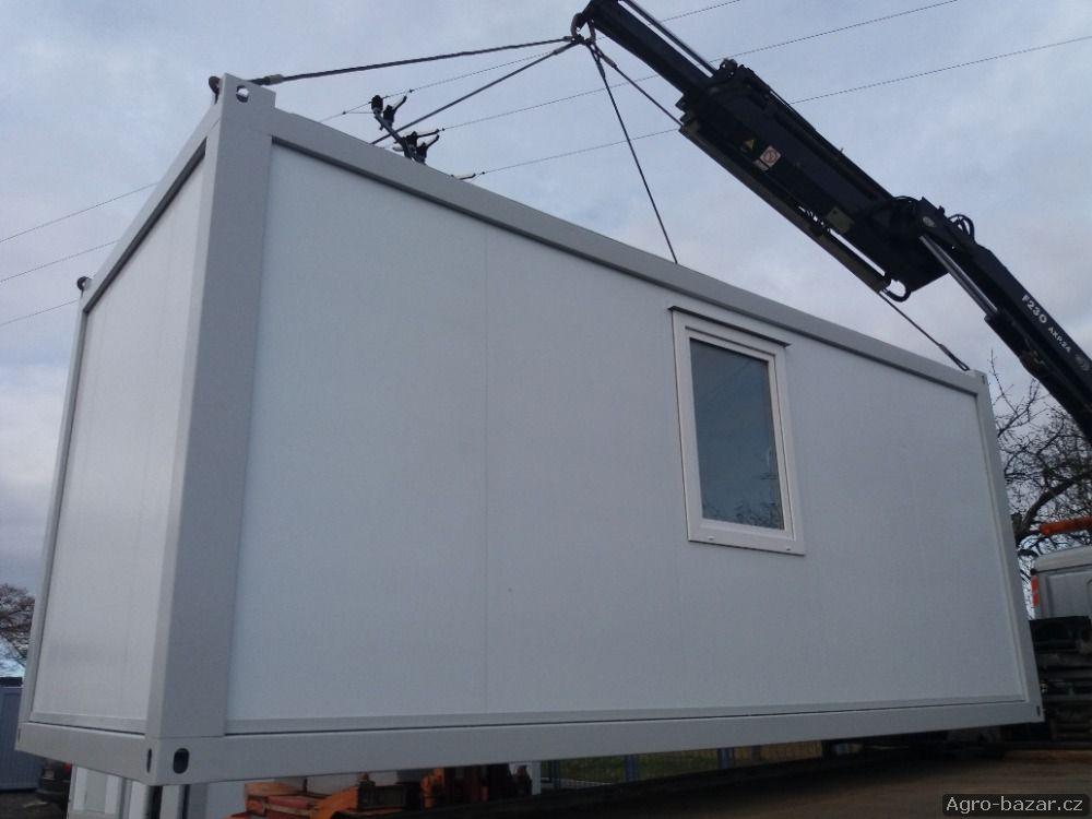 Obytný kontejner (stavební buňka).