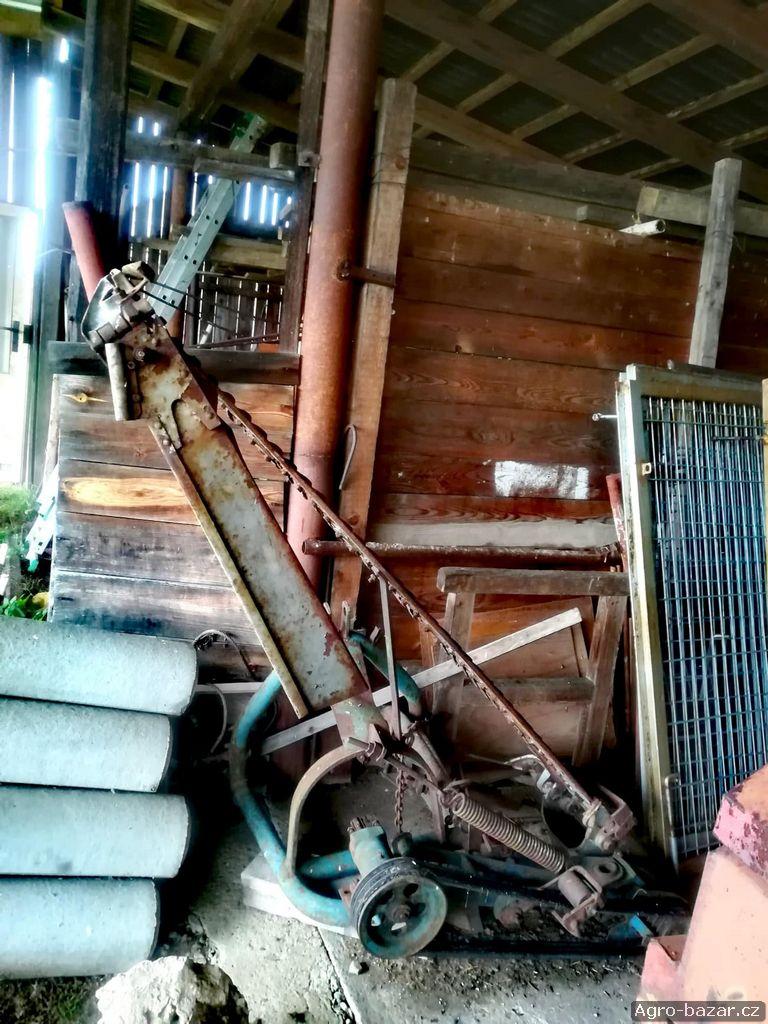 Prodej zemědělských strojů a náhradních dílů