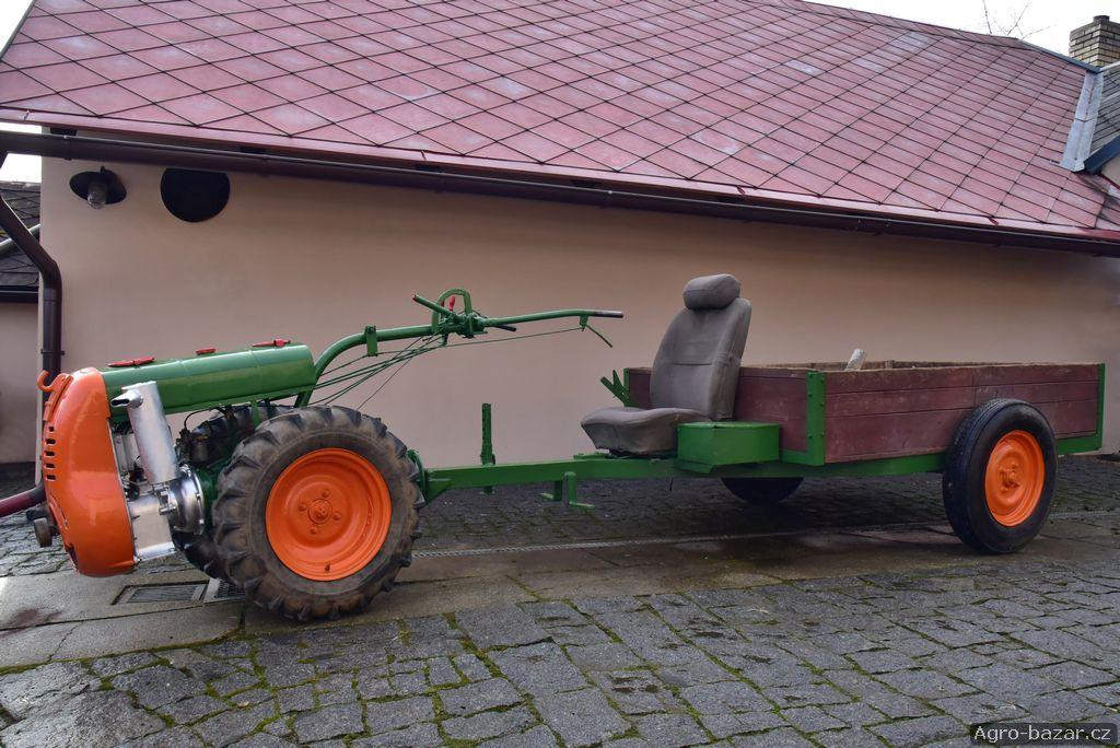 Půdní fréza PF62 ( malotraktor motorobot )