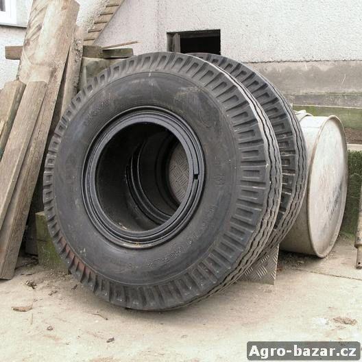 kola s pneu trilex