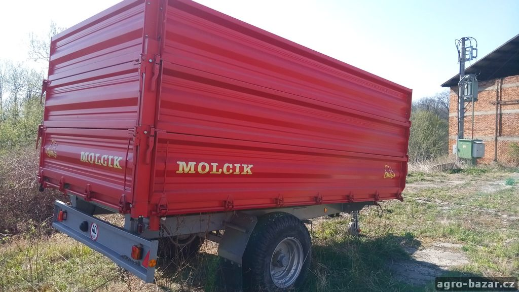 Traktorový návěs Molčík EDK 6500