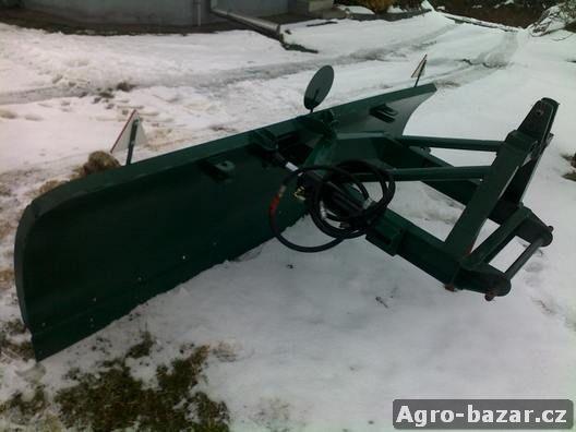 Radlici na sníh za traktor 2,8m širokou, hydraulicky ovládanou