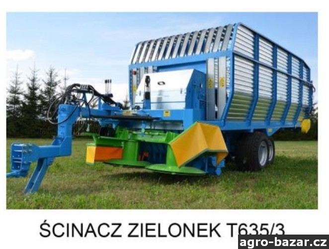 Sklizen zeleně Zamet T635/3 Doprava zdarma