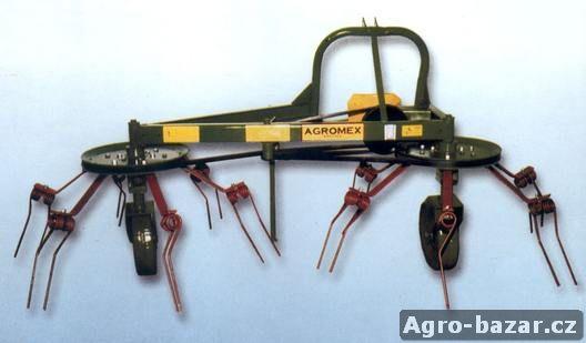 NOVÝ obraceč řemenový 2-rotorový ( nahrabovač)
