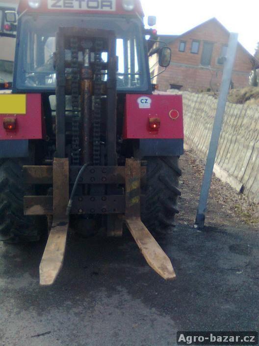 Hydraulické vidle  za traktor