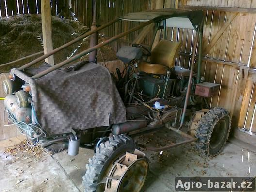 Traktor z V3S - 4x4, naviják, hydraulika, štípač polen, lesní štít, servořízení,...