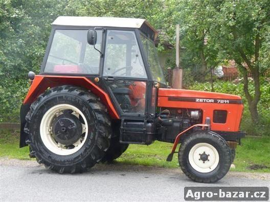 Prodám traktor ZETOR 7211