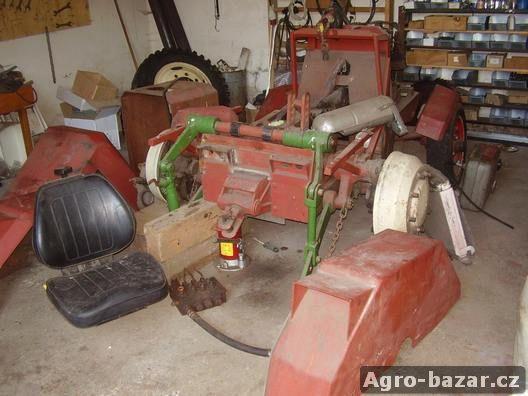 Malotraktor domácí výroby