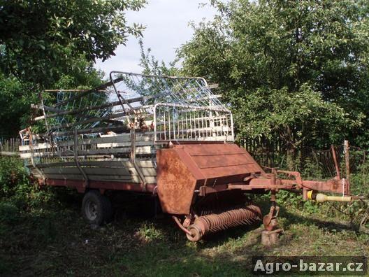 Sběrací vůz FAHR s řezáním