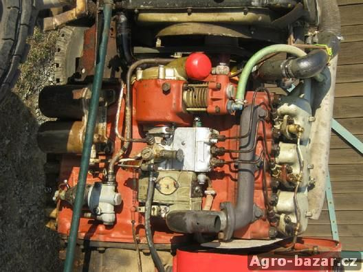 Prodám motor Zetor 4701-3 válec,po GO