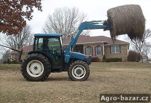 2003 New Holland TN75 traktor